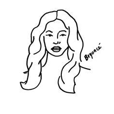 Beyonce #bktx #beyonce #brooklyn #texas #houston #drawing #illustration