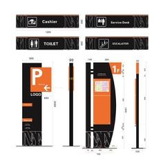 Signage | Sign Design | Wayfinding | Wayfinding signage | Signage design | Wayfinding Design | 停车场指示牌