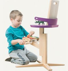Wooden High Froc Chair for Toddlers and Kids - #kidsroom, #decor, #kidsfurniture, home, kids room