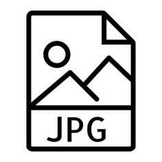 See more icon inspiration related to jpg, jpeg, jpg file, jpg format, jpg file format, jpg extension and interface on Flaticon.