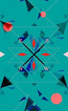 studiopik #geometrics #illustration #prouns #posters