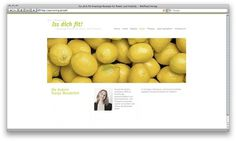 Iss dich fit! on Web Design Served #gfhfg