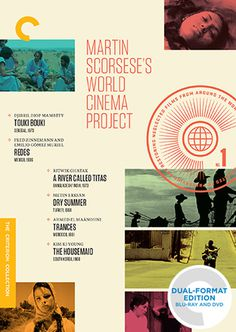 Martin Scorsese's World Cinema Project The Criterion Collection #dvd #film #cover #movie #wrap #documentary