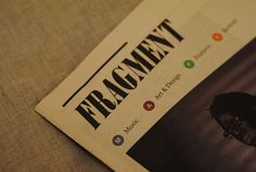 James Kirkups portfolio #print #fragment #newspaper #magazine