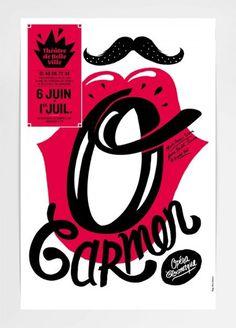 Théâtre de Belleville Posters by Pierre Jeanneau | Incredible Types