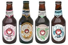 FFFFOUND! | TheDieline.com: Hitachino Nest Beer #beer #owl #design #hitachino #package