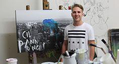'Big City Dreaming' Jake Hart Art