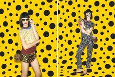yayoi kusama for louis vuitton - infinitely kusama #yayoi #kusama #louis #fashion #vuitton