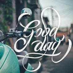 good day by @bryanikhsn #type