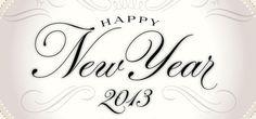 Happy New Year 2013 on Behance