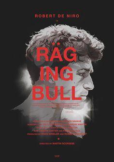 RAGING BULL / Vector Movie Posters