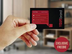 Free Modern and Minimalist Business Card Template