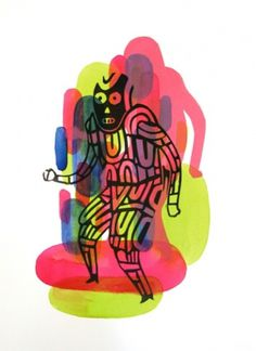 robodance_web_02_misslotion.jpg (400×550) #illustration