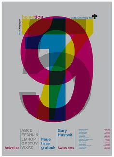 afiche helvetica documental | Flickr - Photo Sharing! #print #design #graphic #poster #overprint