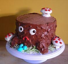 FFFFOUND!   tree stump cake   Flickr - Photo Sharing! #cake