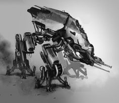 concept robots: Concept robot by Paul Chadeisson #chadeisson #mech #paul