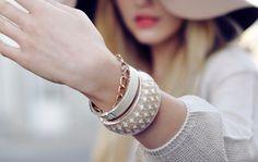 Sara Lindholm #fashion #bracelet