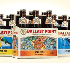 Ballast Point Six Pack #packaging #beer #bottle