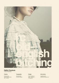 WANKEN - The Blog of Shelby White #grid #hello #poster #couture #helvetica