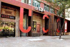 Ullens Center For Contemporary Art (UCCA) by Bruce Mau Design #bruce #environmental #design #mau