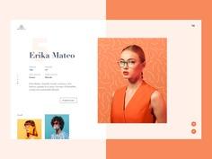 Model Agency Website Concept