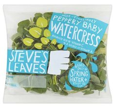 Sara Strand › Steve's Leaves #packaging #vegetable #salad #hand #typography