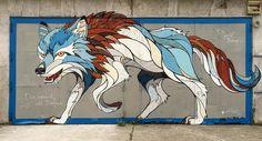 Microsoft // Mural // Wolf