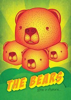 Todos os tamanhos | THE BEARS | Flickr – Compartilhamento de fotos! #bears #illustration #life