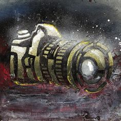 Diego Pinzon, Industrial Designer from Buenos Aires CF, Argentina #diego #camera #pinzon #stencil #illustration #handmade