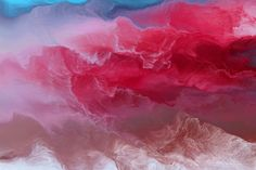 Schwarm I / Andreas Nicolas Fischer #pink #print #rot