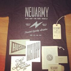 Neuarmy #logo #print #worn