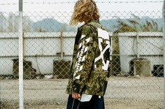 """Off-White Spring Summer 2019 Jim Stark Collection Bart Simpson """"Rebel Without A Cause"""" 90s New York City Streetwear Inspiration Dondi White Graffiti Artist Graphics New Collection HBX Drop Release Information"""