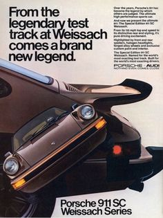 Porsche ads | Cartype #1980 #porsche #sc #911 #car
