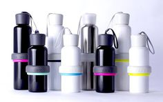 Fear not the smelly water bottles of the past. Meet ALEX, the customizable and easy to clean bottle.