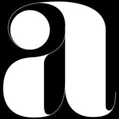 LETTERSTREAM 3 — LetterCult #blackwhite #round #letter #elegant #blackandwhite #typography
