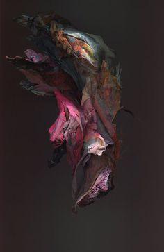 Kim Kei Sculpture #found #sculpture #objects #paint #photography