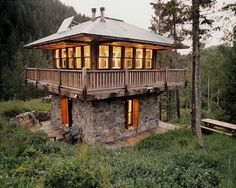 WANKEN - The Blog of Shelby White » Architecture #mountain #judith #architecture #cabin #montana
