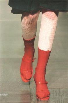 """dekonstruktivisme: """"Anna Heylen autumn—winter 2002—03. """""""