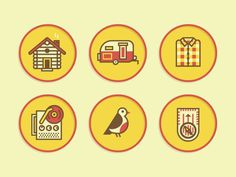 Merit Badge Icons 2 #icon #set