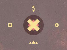 Aztec/Indian inspired pattern #picto #indian #brown #motifs #aztec #patterns