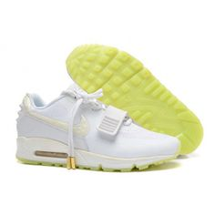 Nike Air Max 90 White Mens 2014 Yeezy Ii 2 Sp the Devil Series West Shoes Yellow