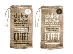 Dulce_coffeebags #coffee #bag #packaging