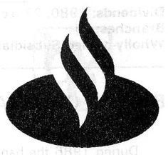 bancajovierbank208.jpg 353×326 pixels #flame #white #black #and