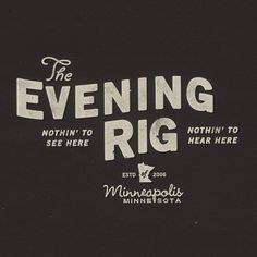 FFFFOUND! | The Evening Rig's Photos - Profile Pictures #mpls