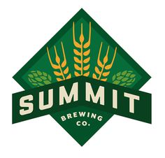 Summit Brewing Company's Union Series The Dieline #logo #beer