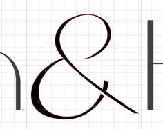 A Fashion Forward Textstyle #font #brekke #serif #design #ampersand #grid #typeface #type #nodes #kile