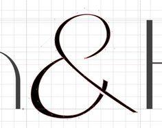 A Fashion Forward Textstyle #font #brekke #serif #design #ampersand #grid #typeface #type #nodes #kile