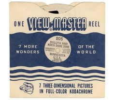 View Master Reel #packaging #retro #master #vintage #view