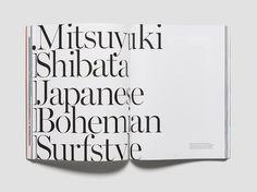 12 saturdays #typography #editorial #serif