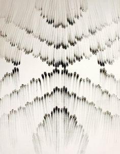 PLUME DE POULE #match #black #white #art